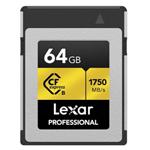 雷克沙CFexpress Type B 存储卡(64GB) 闪存卡/雷克沙