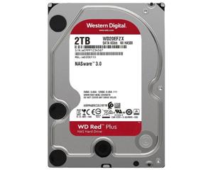 西部数据红盘Plus 2TB 5400转 128MB SATA3(WD20EFZX)图片