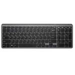 多彩K2203D无线超薄静音键盘