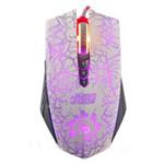 双飞燕A60(灰白烈焰纹)游戏鼠标 鼠标/双飞燕