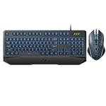 雷柏V120S有线背光游戏键鼠套装 键鼠套装/雷柏