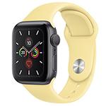 苹果Watch Series 5(GPS+蜂窝网络/铝金属表壳/运动表带/44mm) 智能手表/苹果