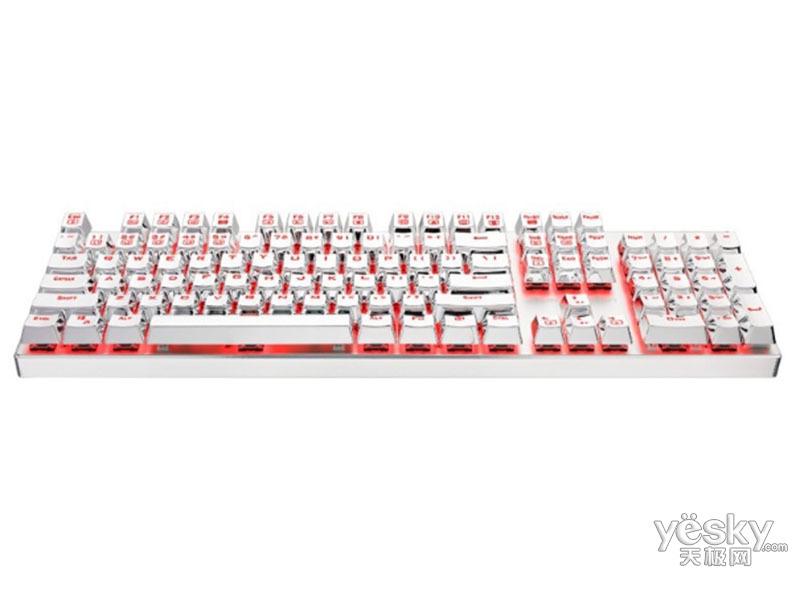 雷神白幽灵K75机械键盘