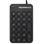 新贵掌中宝TK031有线数字小键盘 键盘/新贵