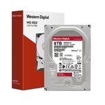 西部数据红盘 8TB 5400转 64M SATA3(WD80EFAX) 硬盘/西部数据