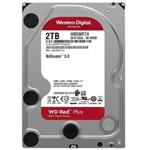 西部数据红盘Plus 2TB 5400转 128MB SATA3(WD20EFZX)