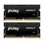 金士顿FURY Impact 32GB(2×16GB)DDR4 2666(HX426S15IB2K2/32) 内存/金士顿