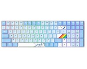 达尔优A100天空版三模机械键盘
