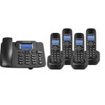 中诺W128一拖四 电话机/中诺