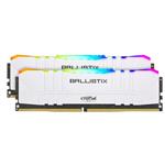 英睿达Ballistix铂胜 RGB 16GB(2×8GB)DDR4 3600(BL2K8G36C16U4WL) 内存/英睿达