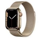 苹果Apple Watch Series 7 41mm(GPS版/不锈钢表壳/米兰尼斯表带) 智能手表/苹果